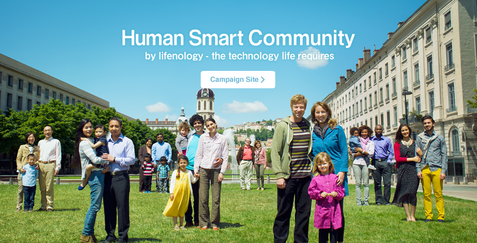 Human Smart Community by lifenology -the technology life requires