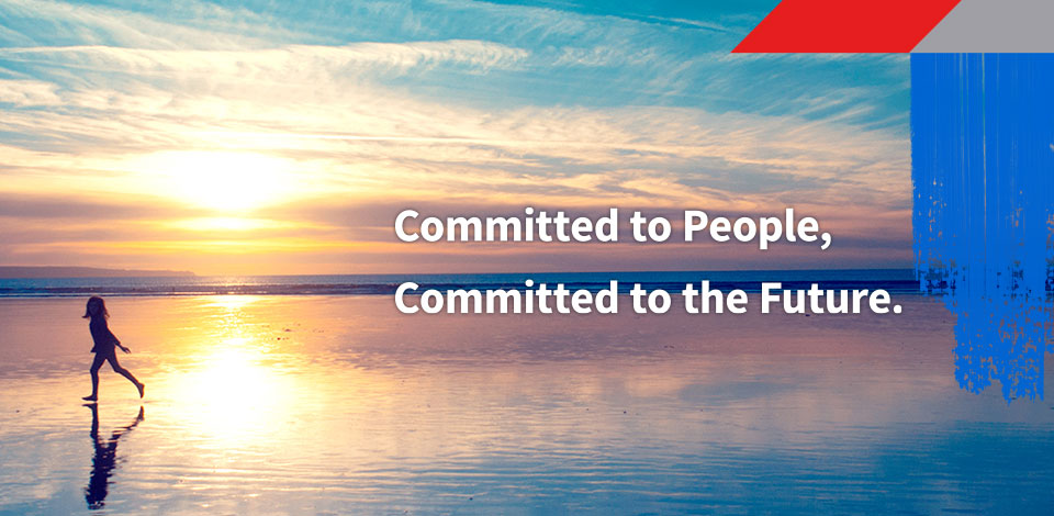 Committed to People, Committed to the Future.